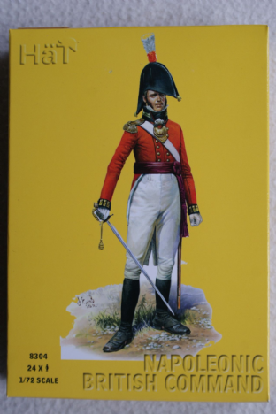 HaT 1/72 HAT8304 British Command (Napoleonic)